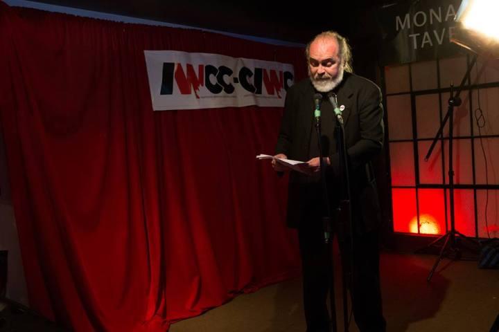 Robert Mills @ The IWCC Launch. Photo: Anna Prior